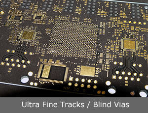Ultra Fine Line / Blind Vias